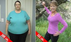 Retired woman reveals how she halved her body weight to lose 225lbs