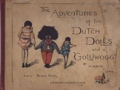 1895 Golliwog book,by Florence Upton.