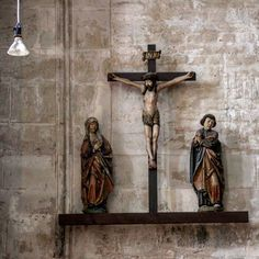 Jesusfigur #halle #kirche