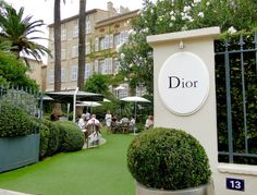Dior boutique and restaurant
