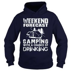 Weekend Forecast T-Shirts, Hoodies. CHECK PRICE ==► https://www.sunfrog.com/Outdoor/Weekend-Forecast--LIMITED-EDITION-Navy-Blue-Hoodie.html?id=41382