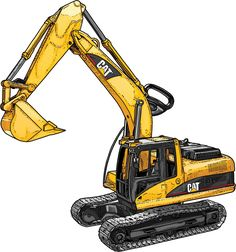Not the flimsy toys you see in discount stores. This is a burly, authentic 1/16 replica of the iconic CAT Excavator but scaled down so that any kid's hand can manage it.