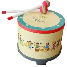 Aladdin Korean-style Drums for Kids Percussion Toys for 1 Year Old