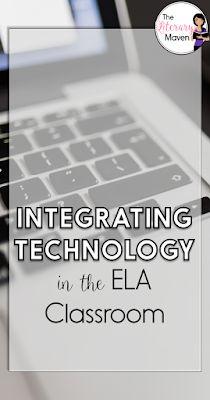 Integrating Technology in the ELA Classroom - Technology Classroom Games High School, Flipped Classroom, Classroom Rules, Middle School English, English Classroom, Blended Learning, Thing 1, Learn English, English Language