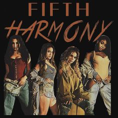 FIFTH HARMONY NEW ERA ARTWORK. THIS ARTWORK AVAILABLE ON UNISEX T-SHIRT, PHONE CASE, STICKER, AND 20 OTHER PRODUCTS. GET YOURS HARMONIZERS!