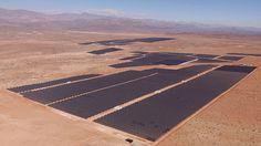 @aguamarket informa: Ponen en marcha en Vallenar la planta solar fotovoltaica mas grande de Latinoamerica.