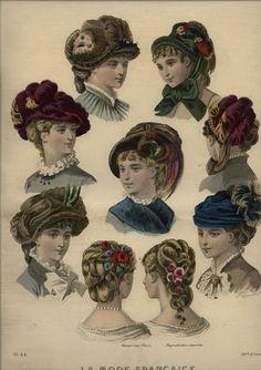 241 Best Bustle Bonnets and Hats images  4f654b18b52