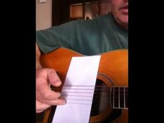 ▶ Lesson 4 easy Travis picking John prine style D chord - YouTube
