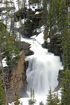 Beartooth Falls, Shoshone National Forest, Wyoming; photo by Drew Rush