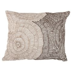 Shell Pillow in Taupe at Joss and Main