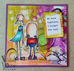Janet - vera lane studio I love this card! Great job Janet!