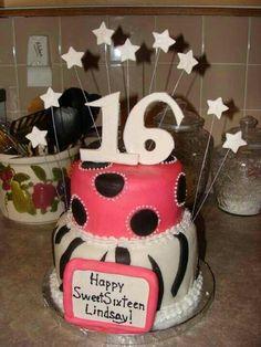 The cake she pinned