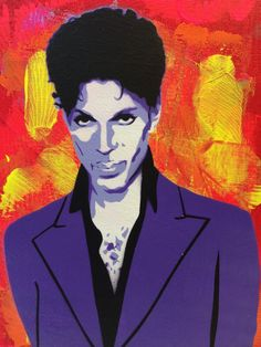 Prince Painting by PlanetGiggles on Etsy