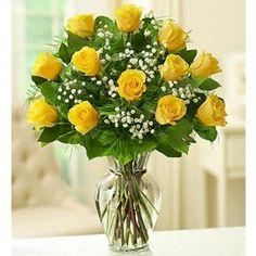 Kytice • žlutých růží