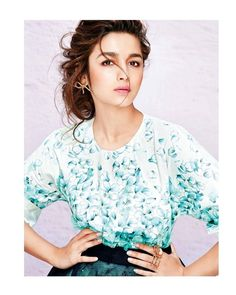 Alia Bhatt Photoshoot For Grazia Magazine April 2015