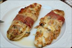 Endives stuffed with Italian ~ Happy taste buds - - Vegetarian Thanksgiving Main Dish, Thanksgiving Recipes, Indian Food Recipes, Italian Recipes, Italian Foods, Italian Vegetables, Vegetarian Entrees, English Food, Thing 1