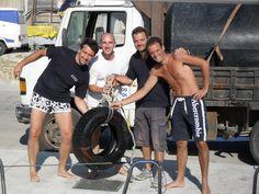 big fender #sailing #sea #greece #fun