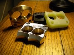 Afrankart WTS Single and Double Finger Knucks. New updated version of brass knuckles. Photo showing double not the single finger. A little pricier for what it is ut cool. DFK G10 models: $38 (includes paypal fees and shipping CONUS) DFK Aluminum models $38 DFK Brass models: $56 DFK CF models: $65 SFK G10 models: $28 SFK Aluminum models $28 SFK Brass models: $44 SFK CF models: $48