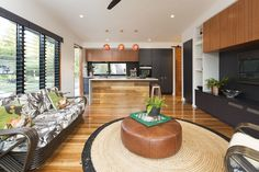 Lounge- Kitchen
