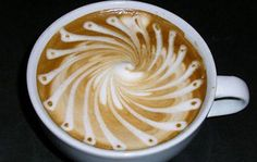 This latte art is so pretty, we would hate to ruin the design by taking a sip! #MrCoffeeBrand #LatteArt #Latte