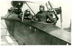 Captured German Rumpler C.IV [7610/17] ...