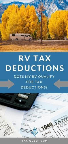RV Tax Deductions: What qualifies as a write-off? Living in an RV is an awesome lifestyle choice. However, that doesn't mean there aren't a few RV tax deductions available to those who RV. Take a look at the deductions available to you. Rv Camping Tips, Camping Checklist, Family Camping, Camping Ideas, Camping Cooking, Camping Kitchen, Camping Products, Tent Camping, Outdoor Camping