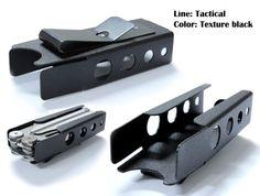Leatherman WAVE sheath / tool holder / belt clip by PlainfieldMFG
