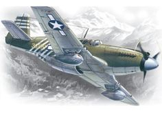 ICM Models P51A Mustang Building Kit -- Click image to review more details.