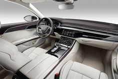 All-new Audi A8 - interior