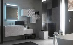 Arredo bagno moderno collezione Lafenice Decor 25