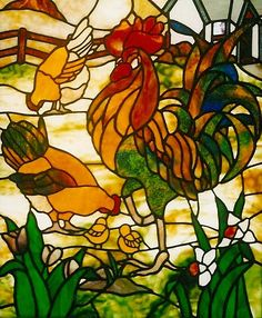 glassdoorstampa | Cockerel front door panel