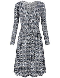 MOOSUNGEEK Women's Vintage V Neck A Line Faux Wrap Dress With Belt Plus Size Maxi Dresses, Short Sleeve Dresses, Long Sleeve, Very Short Dress, Cosplay Dress, Faux Wrap Dress, Women's Fashion Dresses, Woman Dresses, Belted Dress