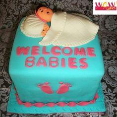 Unisex Baby Shower Cake Unisex Baby Shower Cakes, Special Occasion, Africa, Birthday Cake, Desserts, Pregnancy, Birth, Tailgate Desserts, Deserts