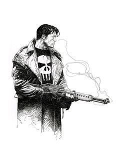 The Punisher by Travis Charest