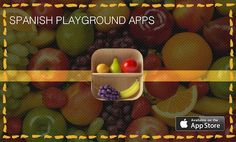 Spanish games and apps for children learning language.