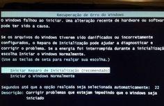 Windows 7 não inicia - Erro no Update KB2823324