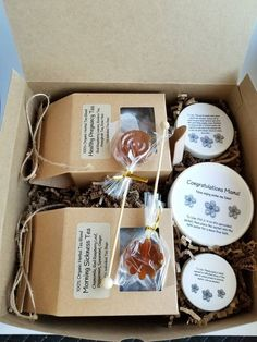 Morning Sickness Gift Box Pregnancy Spa Expecting Mom Basket Congratulations Gifts To Be