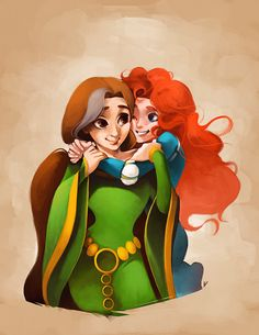 Mother and Daughter by ~thefenrir on deviantART