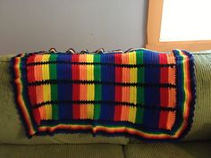 Ravelry: Project Gallery for Rainbow baby blanket pattern by Melody Griffiths