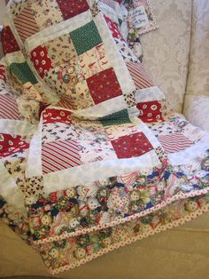 Wendys Hat: Christmas Quilts {traditions}