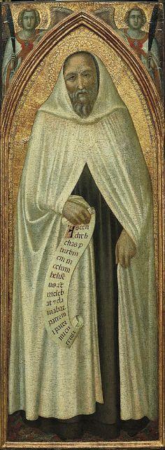 Pietro Lorenzetti - Profeta Eliseo (da Pala del Carmine) - 1328-1329 - Siena, Pinacoteca Nazionale