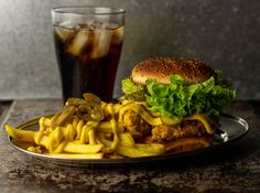Chicken of the Woods Crunch Burger - mit dem Huhn des Waldes
