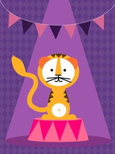 Circus+Tiger+by+formaholic
