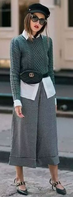 Fall 2018 and Winter fashion trends, outfits and the New Street Style Estilo Fashion, Look Fashion, Ideias Fashion, Winter Fashion, Fashion Outfits, Fashion Trends, Trendy Fashion, Fashion Spring, Street Fashion