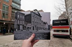 Looking Into the Past: Ford's Theatre, Washington, DC | Historic Buildings/Sites Then and Now