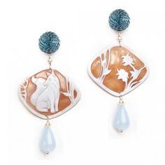 Anna e Alex, orecchini inverno deco, volpe bluhttp://annaealex.com/en/estore/arte-miniatures-en/minimosaico-earrings-4/