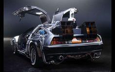 DeLorean Time Machine Trasera Lateral fx