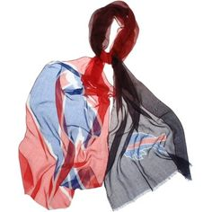 Sometimes the best accessory is a summertime scarf with Buffalo Bills flair.