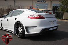 2010-2013 Porsche Panamera AF-1 Wide Body Body Kit Install Photos
