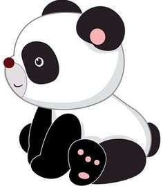 Cute Cartoon Panda   Cute Cartoon Panda Bears Clip Art ...